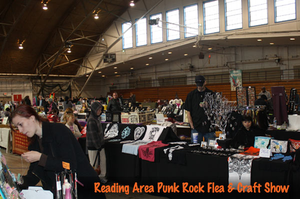 Reading area punk rock flea market indie craft show for Tattoo shops in reading pa