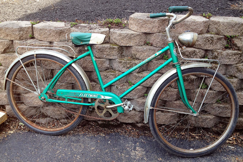 girls vintage Fleetwing Bicycle