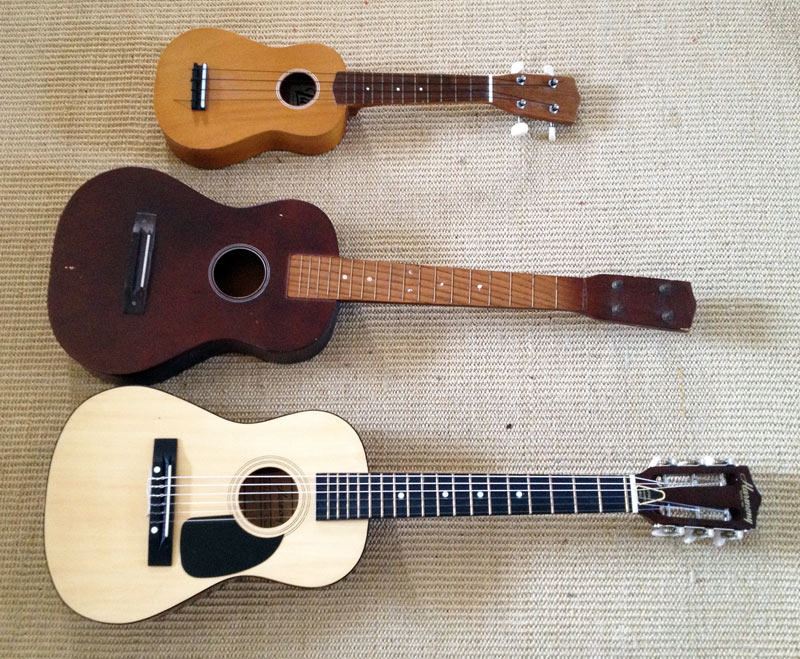 ukulele and Childs guitar