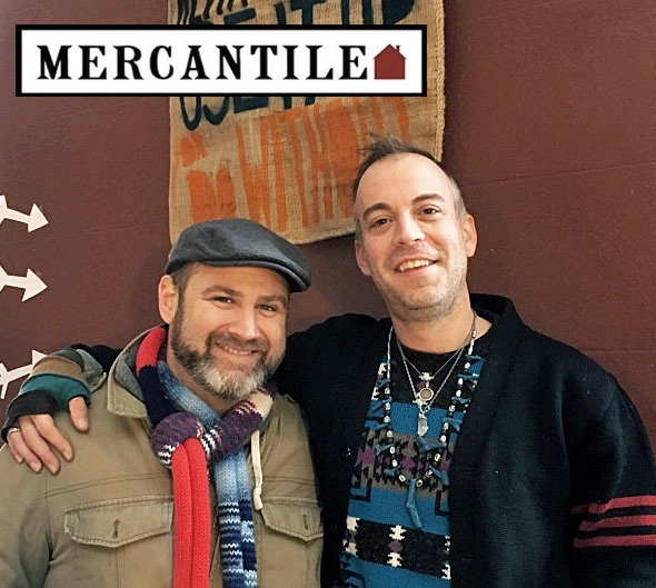 Ron Morris and Ken Jones Jr. of Mercantile Home in Easton, PA